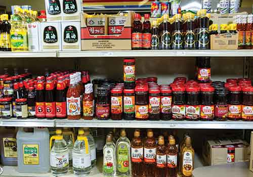Korean spices and sauces